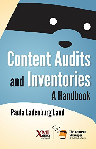 Content Audits And Inventories  A Handbook