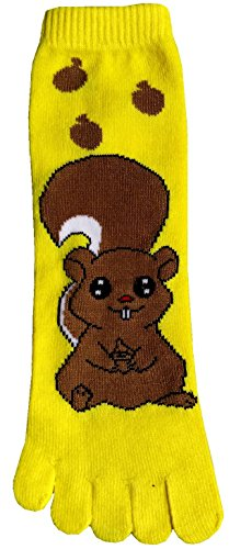 I Love Squirrel Collection(Toe Socks)