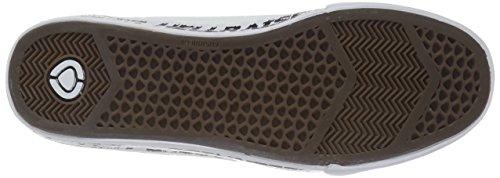 C1RCA Herren AL50R Adrian Lopez Durable Kissen Sole Skate Skateboard Schuh Weiß / Gedruckt