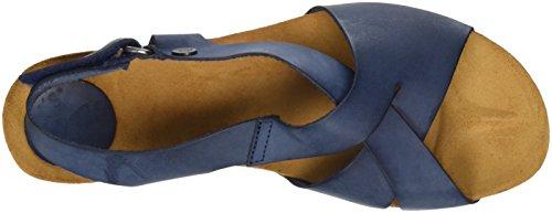 petrol 004 Jonny's Sandales Bleu Bout Ouvert Nane Femme 1YxFq01
