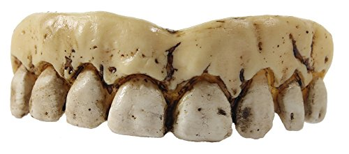 Billy-Bob Fake Halloween Teeth - Skeleton -