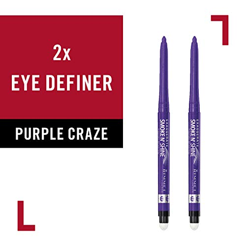 Rimmel Eye Definer, Purple Craze, 2 Count -