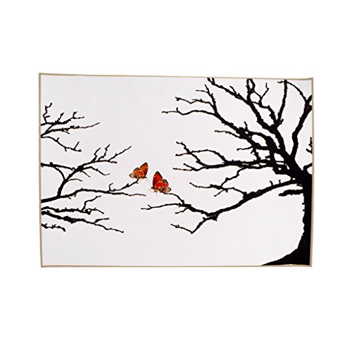 Fingerabdruck Hochzeitsbaum Leinwand Fingerabdruck Baum Gästebuch