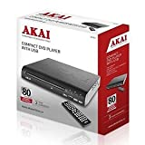 AKAI Multi Region Code Free DVD Player With USB and Remote Control - Scart or RCA input - Plays CD, DVD, Region 1 2 3 4 5 6 NTSC PAL