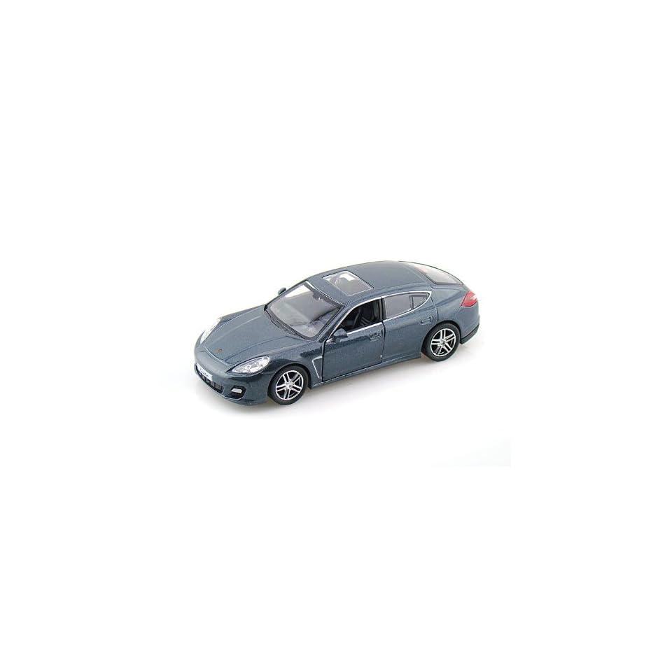 Porsche Panamera Turbo 1/36 Grey
