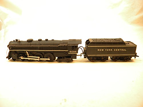Marx HO 6096 New York Central Hudson Steam Locomotive and Tender 1958-1962