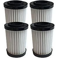 Think Crucial 4 Replacements for Shark Cartridge Filter Fits EP604 Stick, Compatible With Part # EU18410