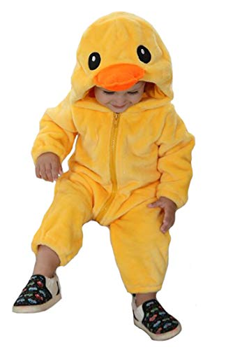 Duck Costumes Toddler - Tonwhar Unisex-Baby Animal Onesie Costume Cartoon