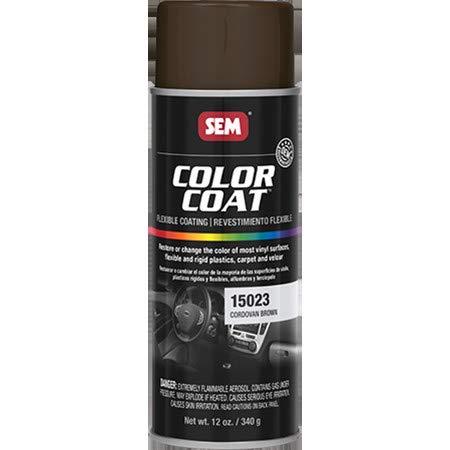 SEM 15023 Cordovan Brown 13Z Color Coat - 12 oz. ()
