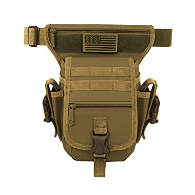 East West U.S.A RT519 Tactical Thigh Pack Waist Belt Drop Leg Utility Bag