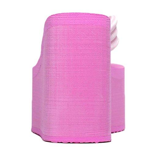 SHANGXIAN de las mujeres del mollete inferior antideslizante chanclas sandalia de la cuña Pink