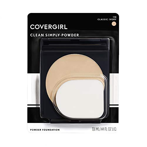 Covergirl Simply Powder Foundation, Classic Ivory 510, 2 Count (Ivory 2)