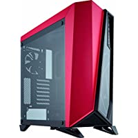 Corsair Carbide Series ATX Mid Tower Gaming Computer Case Chassis (Red)