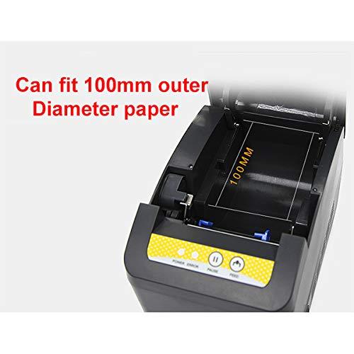 TANCEQI Impresora de Tickets 80mm, Impresora Térmica de Recibos ...