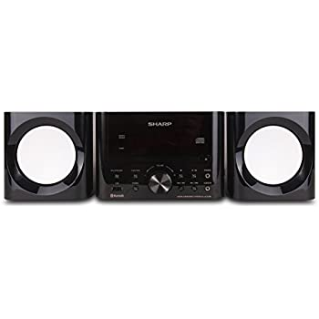 41JUl7p6yyL._SL500_AC_SS350_ amazon com sharp cd bhs1050 350w 5 disc mini shelf speaker  at crackthecode.co