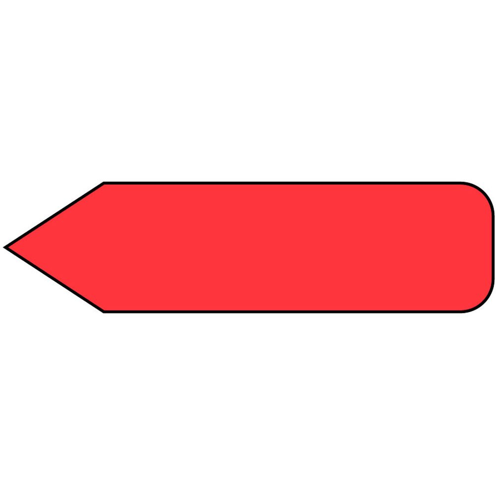 Spee-D-Point SDP-M17 Flags and Tags, Mini, Solid, Removable, 5/16'' x 3/4'', Red (Pack of 300)