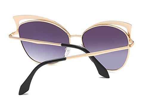 Estilista Sol Conducción Gafas De Personalidad A UV400 Viajar Gafas Gafas Retro Protección De Vacaciones A Sol Moda Dama gxxSzCwq
