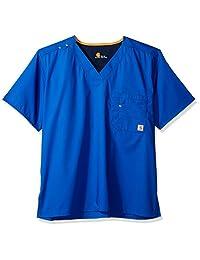 Carhartt mens Carhartt Rockwall Men's V-neck Scrub Top
