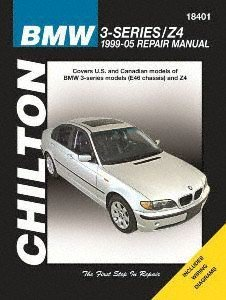amazon com chilton automotive repair manual for bmw 3 series z4 rh amazon com BMW Motorcycle Manuals BMW Workshop Manual