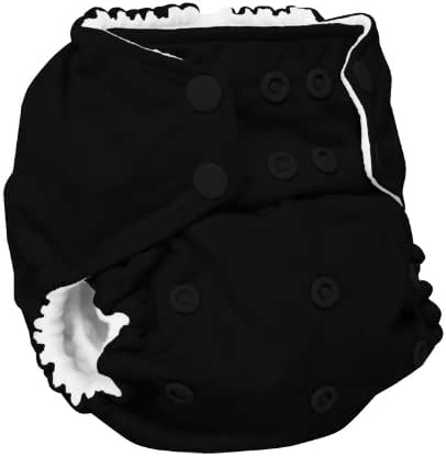 Rumparooz One Size Cloth Pocket Diaper Snap, Phantom