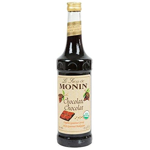 Monin Organic Chocolate Syrup, 750 ml bottle