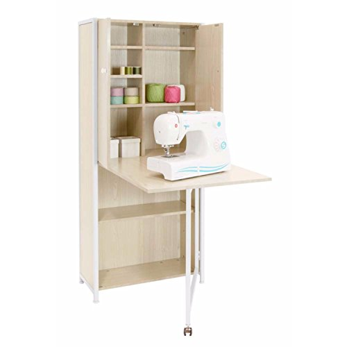 Sewing Rite Sew Ready White Birch Craft Armoire by Sewing Rite (Image #2)