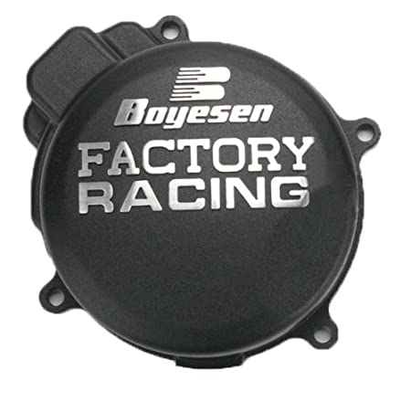 Boyesen SC-02 Silver Vein 'Factory Racing' Ignition Cover