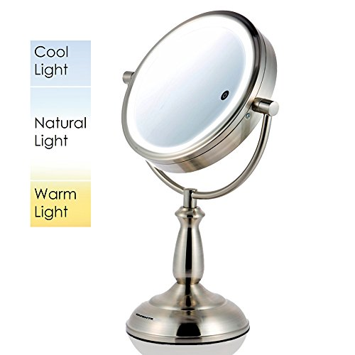 ovente-85-inch-smarttouch-cool-warm-natural-led-lighted-mirror-tabletop-vanity-mirror-1x-10x-magnifi