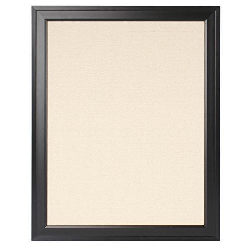DesignOvation Bosc Framed Pinboard, 23.5X29.5, Black