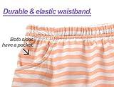 Pajamas for Girls – Summer Cotton Blend Stripe