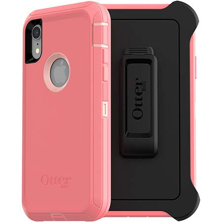 sports shoes 31043 53752 GSA Otter-Box Defender Series Screenless Edition Case for iPhone XR Pink  Lemonade