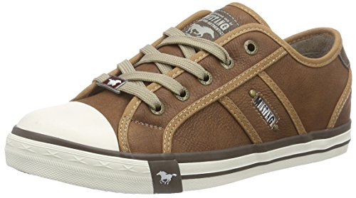 Cap Low Casual Toe Mujeres Zapatillas Mustang Rubber FwqHxP