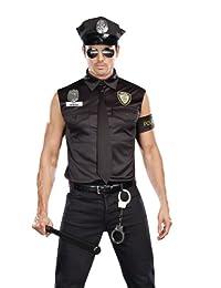 Naughty Officer Banger Adult Costume