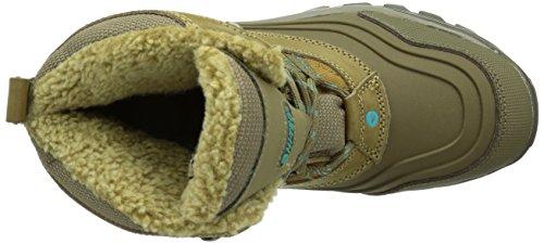 Hi-Tec Snow Peak 200 WP W' - Trekking y botas de trekking y senderismo zapatos, color Marrón, talla 40 EU (7 Damen UK) Marrón (Taupe/Mint 041)