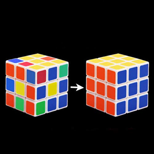 WSNMING Instant Restore Cube Flash Cube Restore Magic Tricks with Video Tutorial Stage Close up Street Party Accessories Comedy Illusions Magic Cube