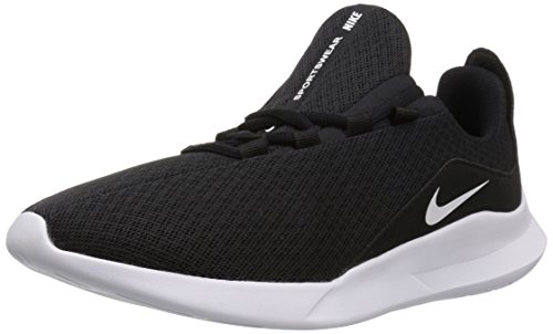 Nike Men's Viale Running Shoe, Black/White, 8 Regular US