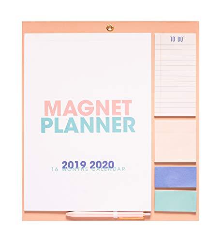 Erik CMP1909 Magnetic Calendar for Refrigerator 2019/2020 Standard