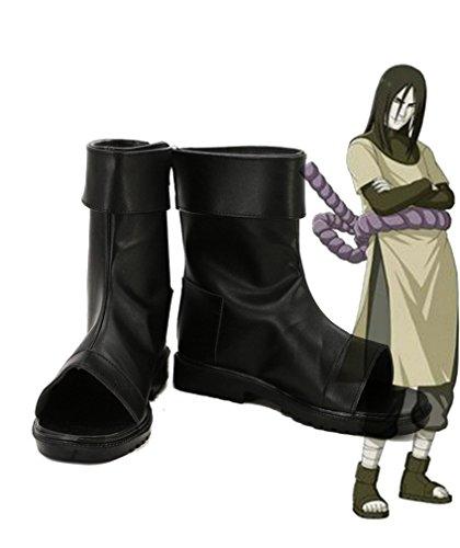 Bromeo NARUTO Anime Orochimaru Cosplay Schuhe Stiefel Stiefeletten