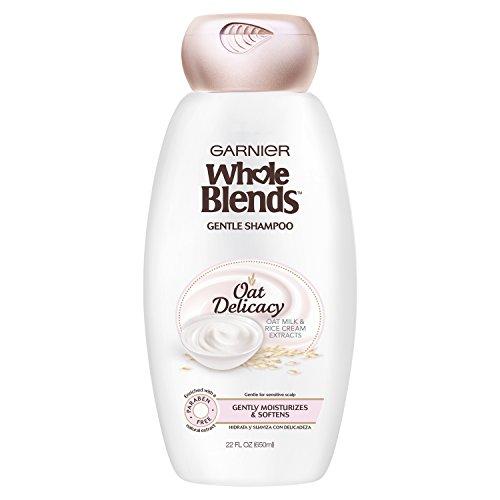 (Garnier Whole Blends Gentle Shampoo Oat Delicacy, For Sensitive Scalp, 22 fl. oz.)