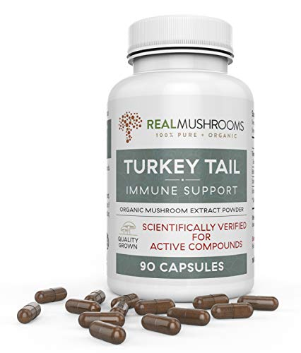 Organic Mushroom Capsules Real Mushrooms product image