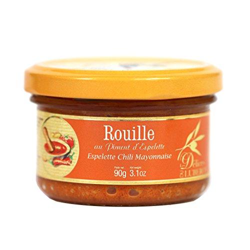 Delices du Luberon - Rouille Sauce with Espelette Pepper, 90g Jar - 90g Jar