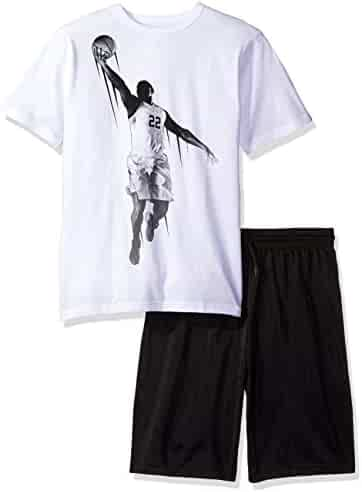 The Children's Place Boys' Active Top and Shorts Set