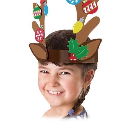Reindeer Antler Make-Your-Own Headband Kit | Party Favor