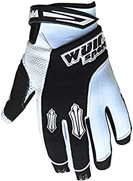 Wulfsport MX Stratos X Large 11cm Gants de moto cross pour adulte bleu