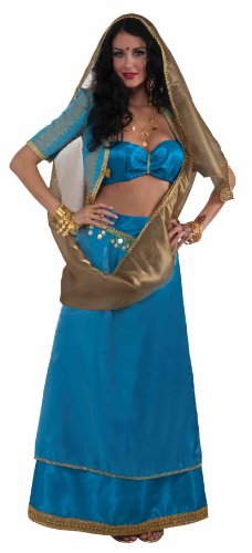 [Forum The Designer Collection Bollywood Beauty, Blue, Medium Costume] (Bollywood Costume Party)