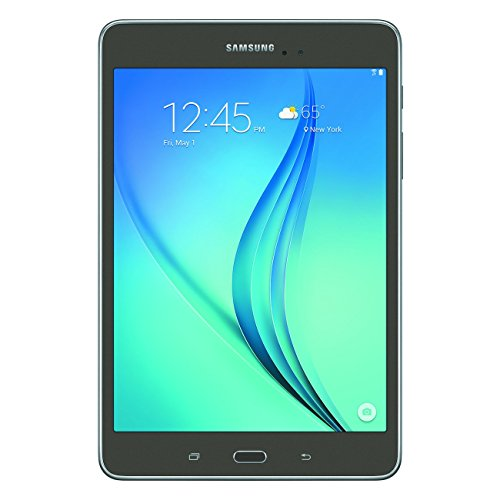 Samsung Galaxy Tab A SM-T350 8-Inch Tablet (16 GB, Titanium) W/ Pouch (Renewed) (Best Space Sim Games)