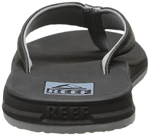 Reef REEF ELEMENT - Sandalias de material sintético para hombre Negro (Black)