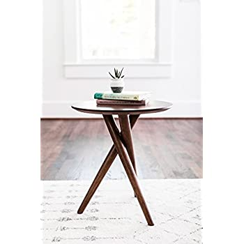 Beau EDLOE FINCH   Gus Small End Table For Living Room   Mid Century Modern End  Table