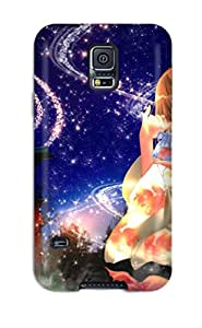 Brand New S5 Defender Case For Galaxy (girl With Orange Hair)