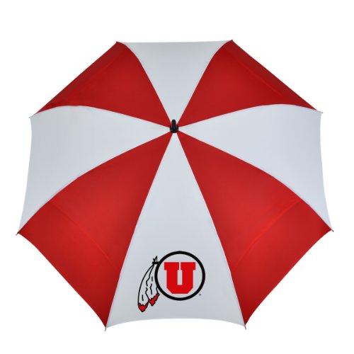 NCAA Utah 62-Inch WindSheer Hybrid Umbrella